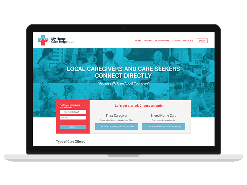 Graphic And Web Design For My Home Care Helper